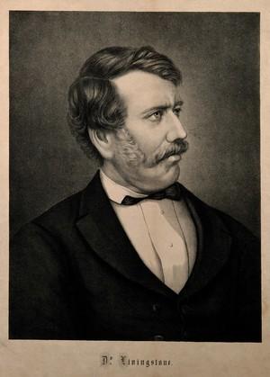 view David Livingstone. Lithograph.