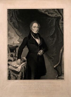 view Sir George Thomas Staunton. Mezzotint by W. O. Geller, 1839, after G. Swandale.