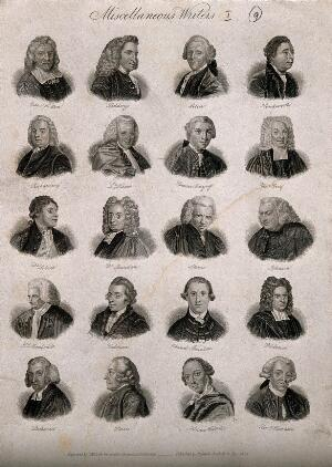 view Writers: twenty portraits of essayists and novelists. Engraving by J.W. Cook, 1825.