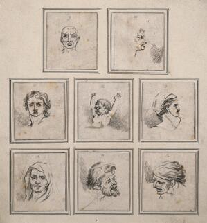 view Jean Calas says farewell to his wife before he is executed. Drawing, c. 1789, after D.N. Chodowiecki.