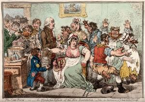view Edward Jenner vaccinating patients against smallpox