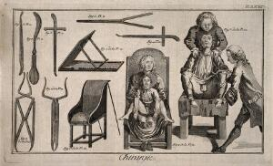 view Engravings illustrating surgical techniques