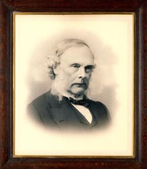 view Joseph Lister, 1st Baron Lister. Photograph.
