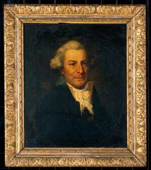 view A man (Edmund Cartwright?). Oil painting.