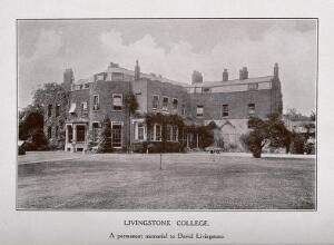 view Livingstone college. Photograph.
