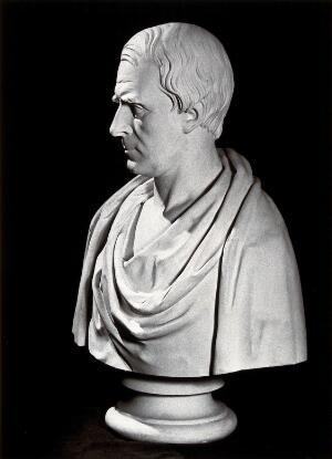 view Francis Adams: a portrait bust. Photograph by Drummond after W. Brodie.