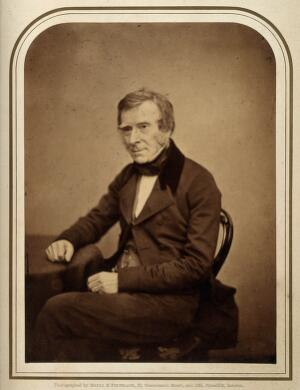 view Sir Benjamin Collins Brodie. Photograph by Maull & Polyblank.