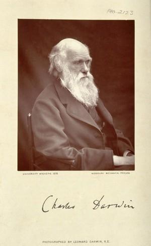 view Charles Robert Darwin. Photograph by L. Darwin.