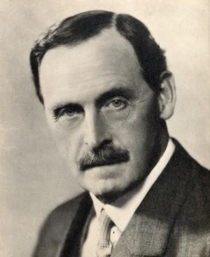 view Bertrand Edward Dawson, Lord Dawson of Penn. Photograph by D. Wilding.