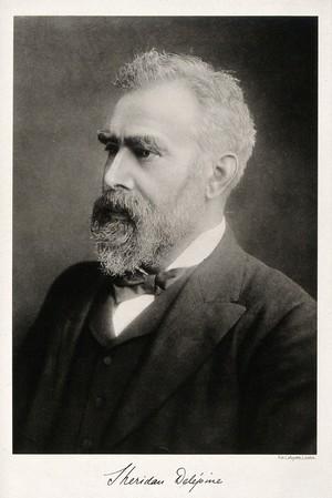 view Auguste Sheridan Delépine. Photogravure after Lafayette Ltd.