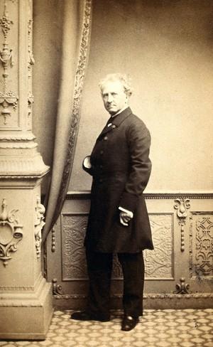 view Benjamin Waterhouse Hawkins. Photograph by Maull & Polyblank.