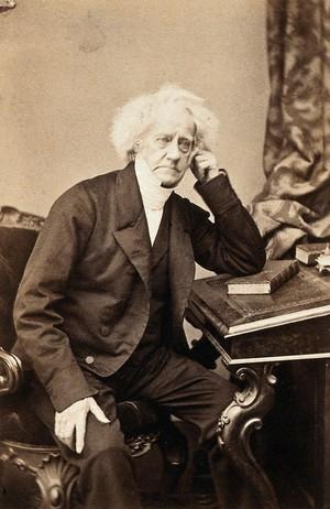 view Sir John Herschel. Photograph by Maull & Polyblank.