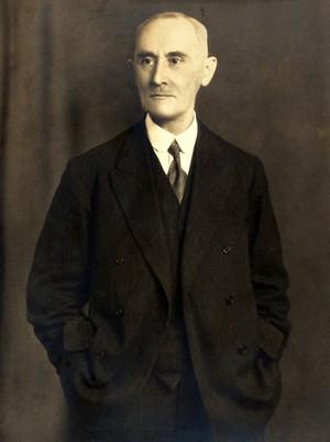 view Sir Alexander Cruikshank Houston. Photograph by Whitlock & Sons.