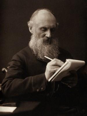 view William Thomson, Baron Kelvin. Photograph by T. & R. Annan & Sons.