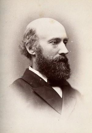 view Robert Liveing. Photograph by G. Jerrard, 1881.