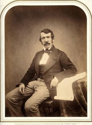 view David Livingstone. Photograph by Maull & Polyblank.