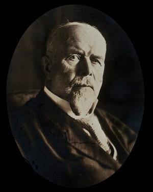 view August Eduard Martin. Photograph, 1927.