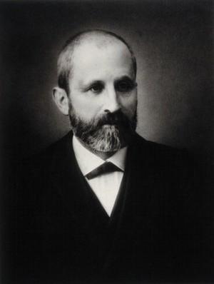 view Johann Friedrich Miescher. Photograph.