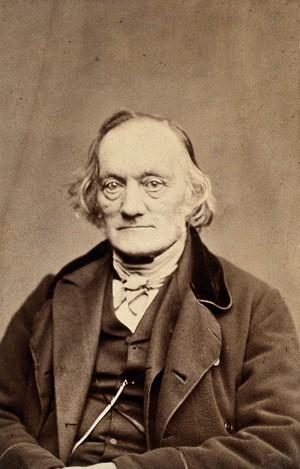 view Sir Richard Owen. Photograph by H.J. Whitlock.