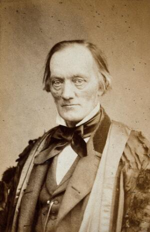 view Sir Richard Owen. Photograph by Maull & Polyblank.