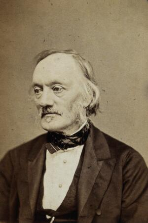 view Sir Richard Owen. Photograph by the London Stereoscopic & Photographic Company Ltd.