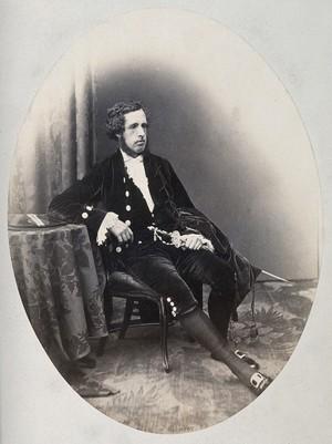 view Robert Hamilton Ramsay. Photograph by Moffat.