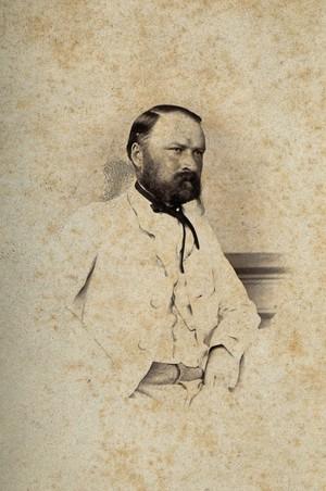 view Georg Eduard von Rindfleisch. Photograph.