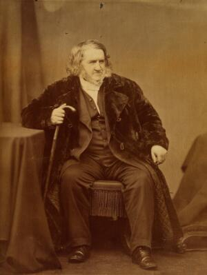 view Sir James Young Simpson. Photograph.