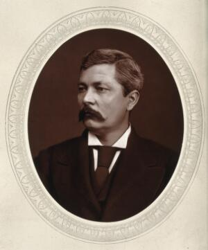 view Henry Morton Stanley. Photograph by Lock & Whitfield.