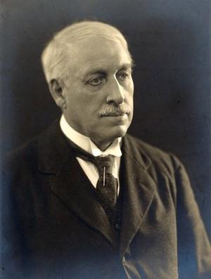 view Albert Wilson. Photograph by Bassano Ltd.