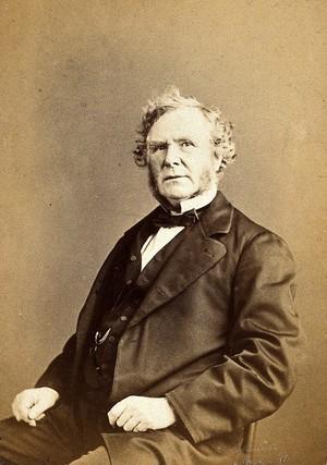 view Sir William James Erasmus Wilson. Photograph by Ernest Edwards.