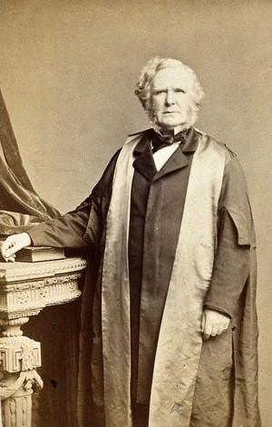 view Sir William James Erasmus Wilson. Photograph by E. Moira.