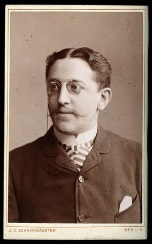 view Georg Winter. Photograph by J. C. Schaarwächter.