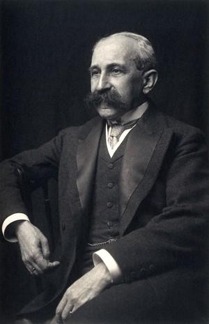 view Sir Felix Semon. Photograph.
