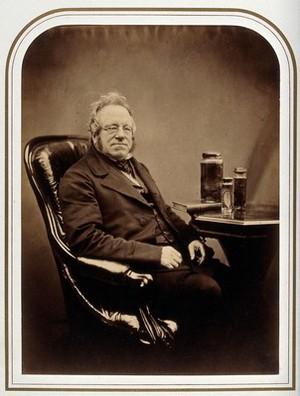 view John Edward Gray. Photograph attributed to Maull & Polyblank.