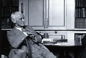 view Harvey Williams Cushing. Photograph, 1938.