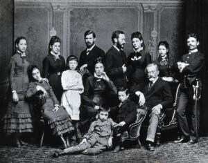 view Freud family group. Photograph, c.1876.