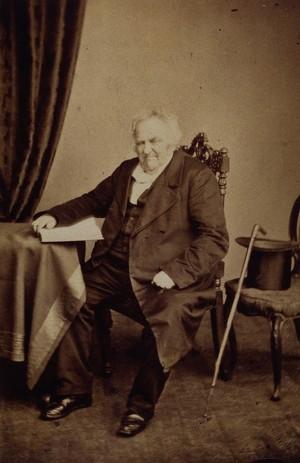 view Joseph Wolff. Photograph by Maull & Polyblank.