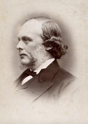 view Joseph Lister, Baron Lister. Photograph by G. Jerrard, 1881.