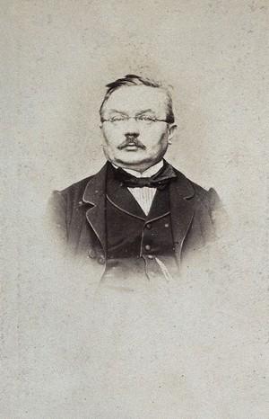 view Ferdinand von Hebra. Photograph.