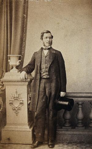 view John Birkett. Photograph.