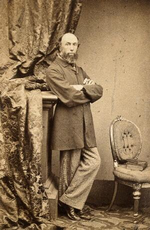 view Frederick Richard Pickersgill. Photograph by Maull & Polyblank.