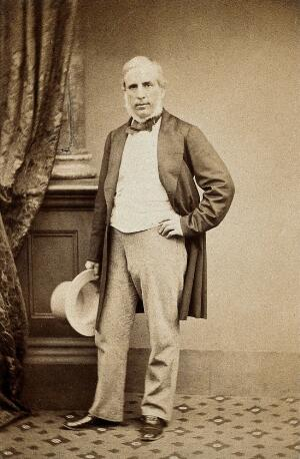 view John Callcott Horsley. Photograph by Maull & Polyblank.