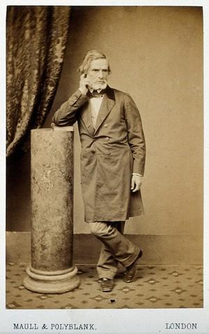 view John Gibson. Photograph by Maull & Polyblank.