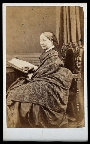 """view Elizabeth Cleghorn Gaskell (née Stephenson), """"Mrs Gaskell""""."""