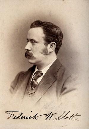 view Frederick Walker Mott. Photograph.