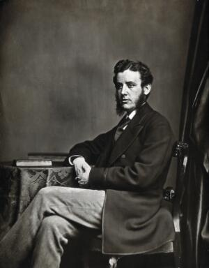 view Sir Hector Clare Cameron. Photograph.