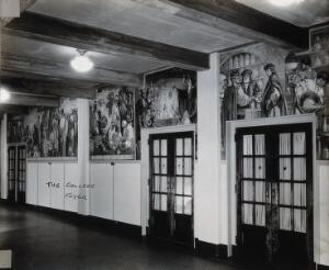 view Philadelphia College of Pharmacy and Science: college foyer. Photograph, c. 1933.