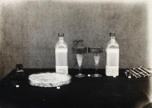 view The Pasteur Institute, Kasauli, India: equipment used for inoculation against rabies. Photograph, ca. 1910.