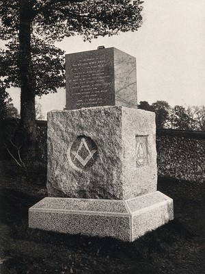 view High Wycombe, Buckinghamshire: tomb of William Henry Kirby. Photograph, 19--.